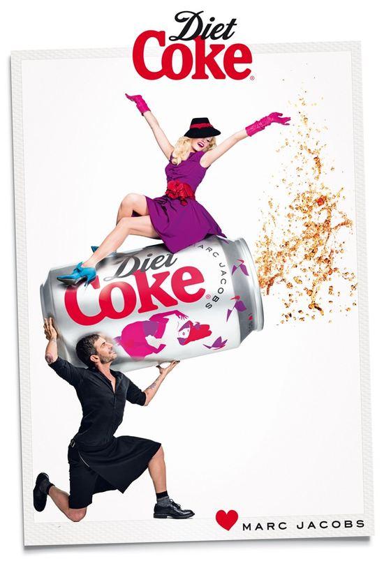 Marc Jacobs w kampanii Diet Coke