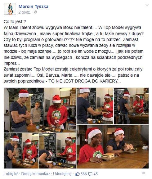 Marcin Tyszka wyśmiał Osi Ugonoh i Michała Baryzę! (FOTO)