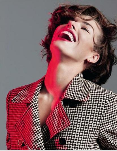 Milla Jovovich po raz kolejny dla Marella jesień-zima 2012/2