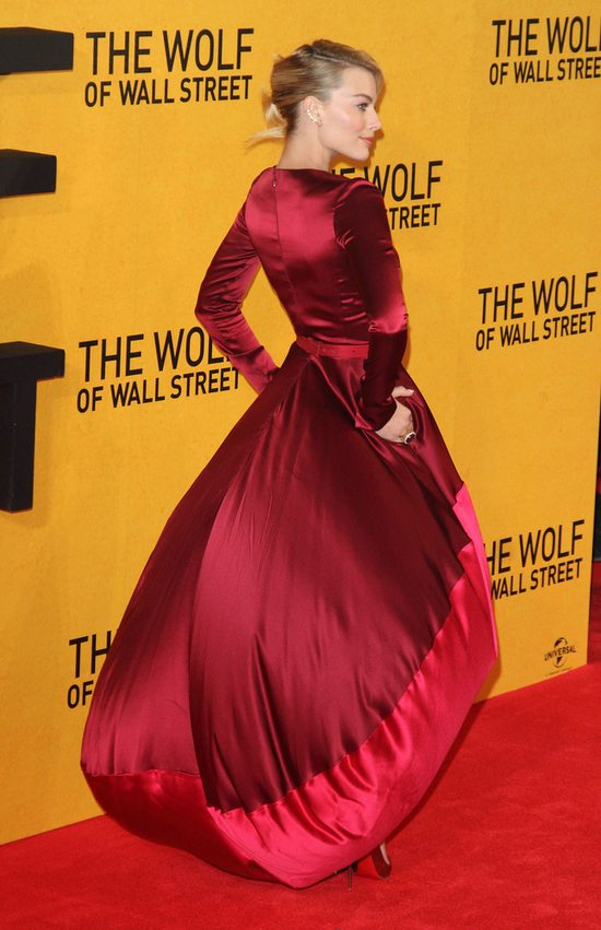 Margot Robbie w sukni Oscara de la Renta (FOTO)