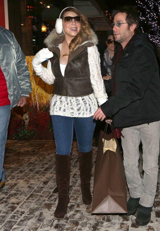 Świąteczny look Mariah Carey (FOTO)