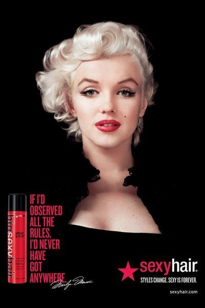 Marilyn Monroe reklamuje Chanel No. 5