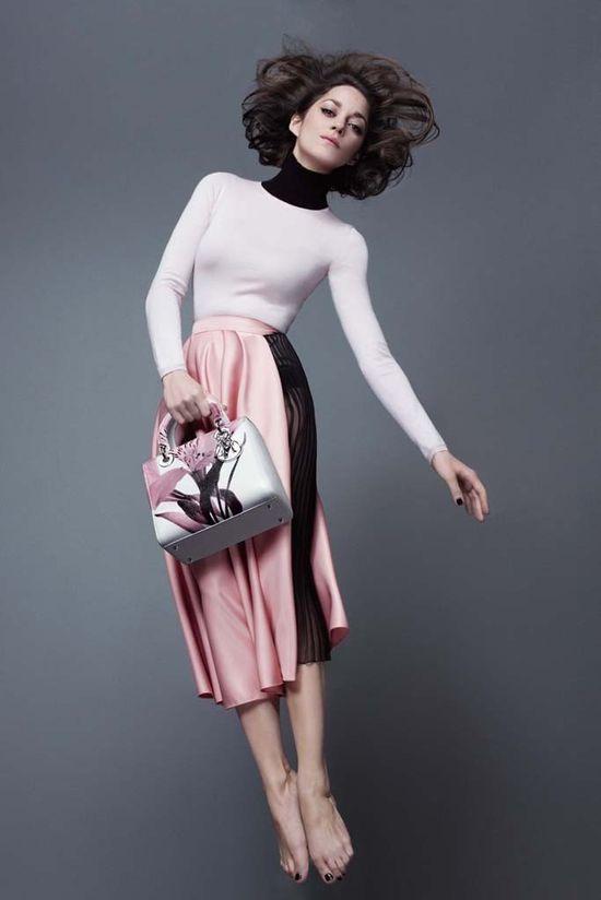 Marion Cotillard  dla Lady Dior - nowe zdjęcia (FOTO)