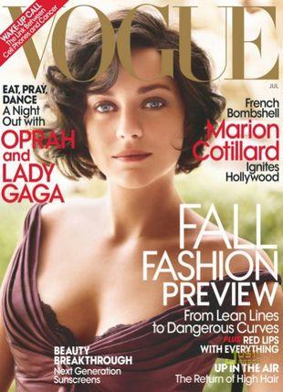Marion Cotillard w Vogue US