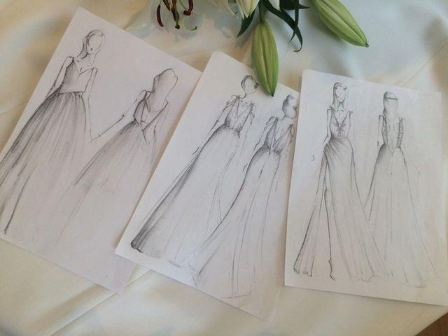 Mamy szkice projektu drugiej sukni ślubnej Małgorzaty Rozenek! (FOTO)