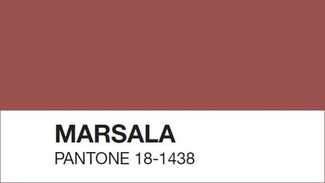 Marsala - kolor roku 2015 w makijażu (FOTO)