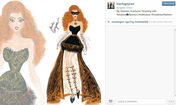 Marta Grycan zaprojektowała sukienki na Halloween (FOTO)