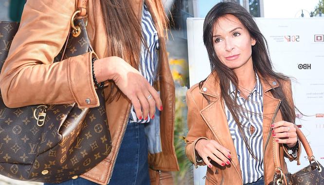 5b195ccc77447 Marta Kaczyńska z torebką Louis Vuitton na Festiwalu Filmowym w Gdyni