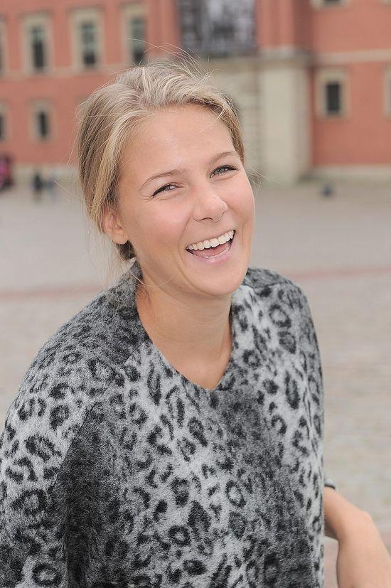 Marta Wierzbicka w płaszczu z Reserved za 499zł