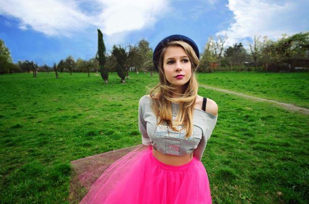 Marta Wierzbicka promuje ubrania marki Miss Spark (FOTO)