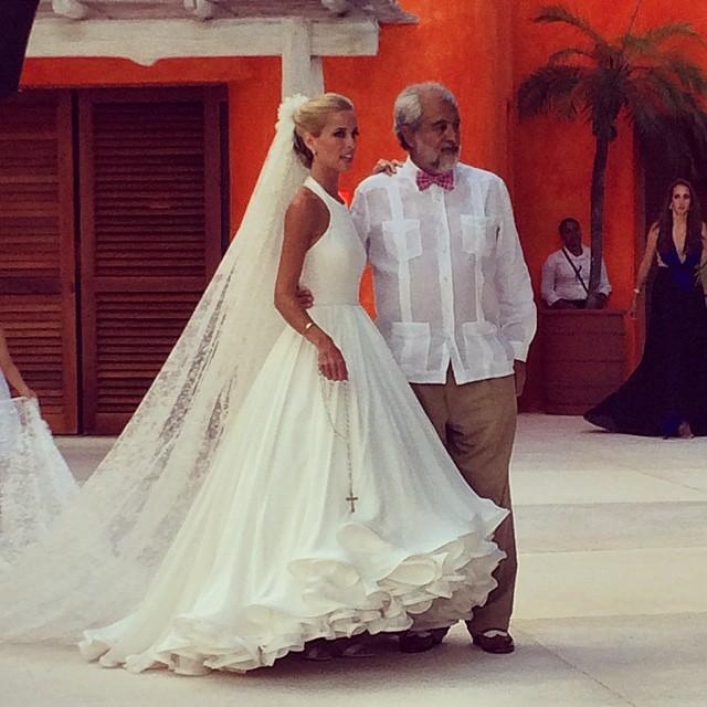 Oto pierwsza suknia ślubna projektu Mary Katrantzou (FOTO)