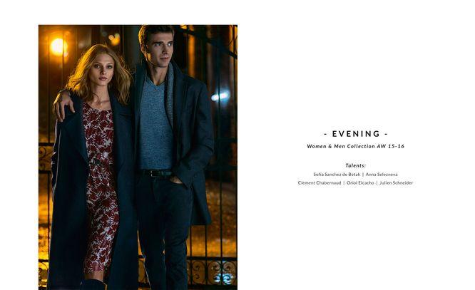 Massimo Dutti Evening - Wieczoorowy lookbook
