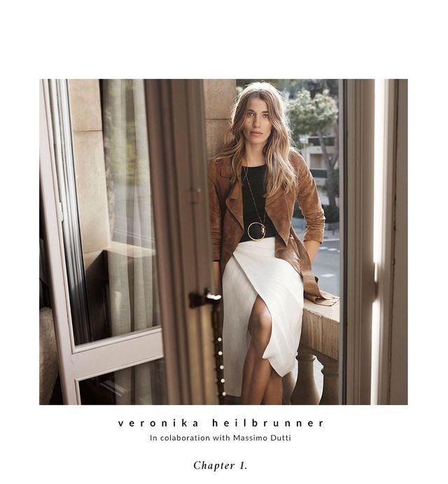 Moda na wiosnę - Veroniki Heilbrunner dla Massimo Dutti