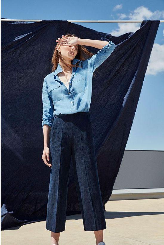 Massimo Dutti Denim Report - Ubraniani jeansowe na lato 2016