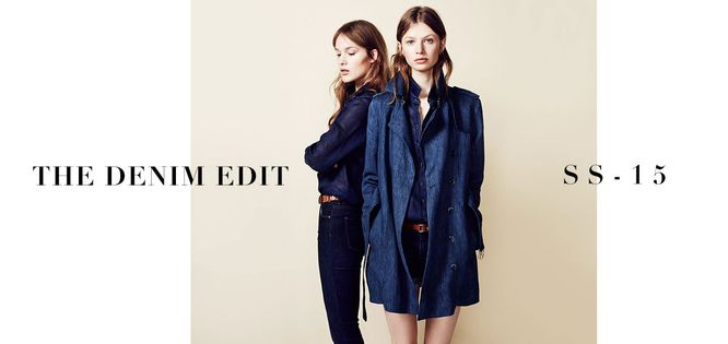 Massimo Dutti The Denim Edit - Wiosenna jeansowa mieszanka