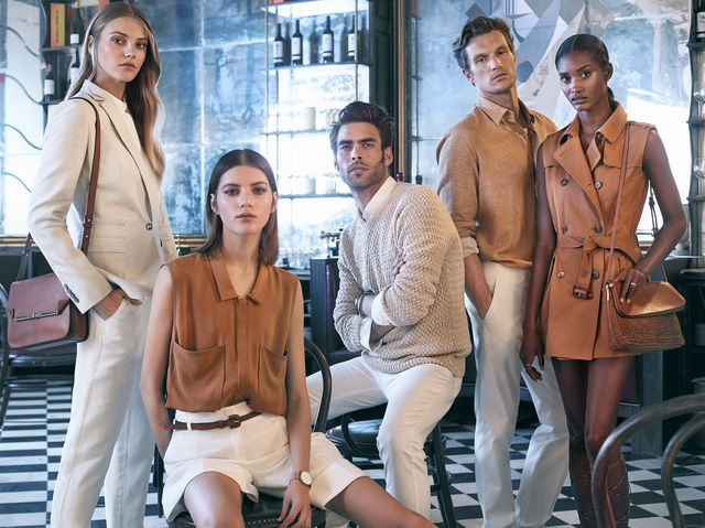Massimo Dutti New York Collection - Mamy wiosenny lookboook