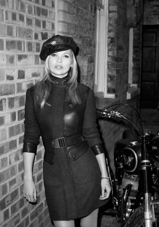 Kate Moss w kampanii Matchless