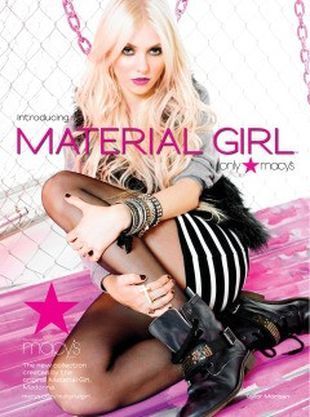 Taylor Momsen dla Material Girl
