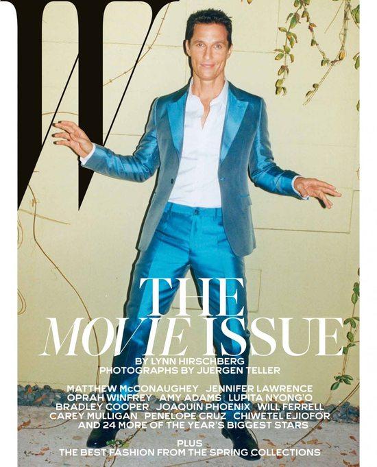Jennifer Lawrence i 5 innych gwiazd  kina dla W Magazine