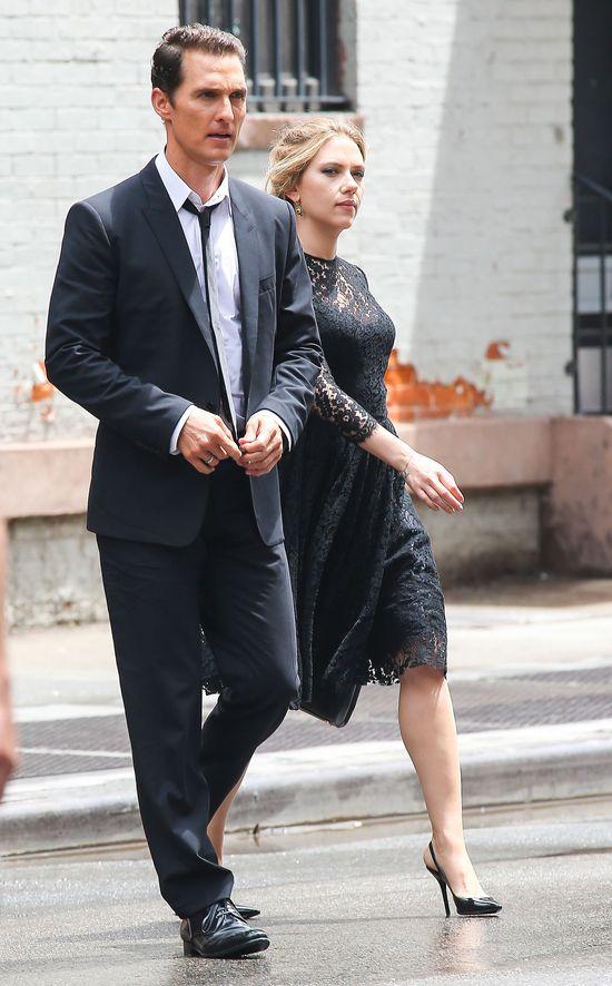 Johansson i McConaughey na planie kampanii Dolce & Gabbana