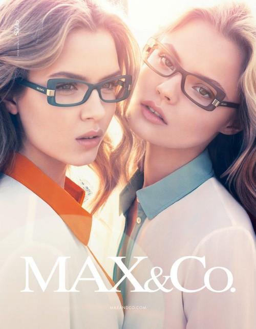 Magdalena Frąckowiak w kampanii Max&Co.