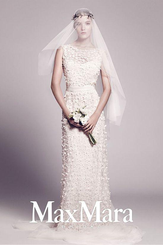 Suknie ślubne Max Mara na jesień-zimę 2015 (FOTO)