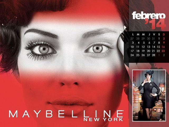 Plejada modelek w kalendarzu Maybelline (FOTO)
