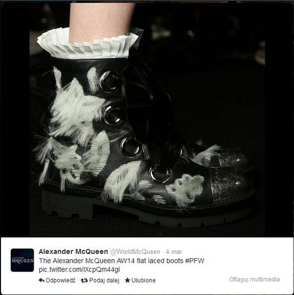 Pokaz Alexandra McQueena od kuchni (FOTO)