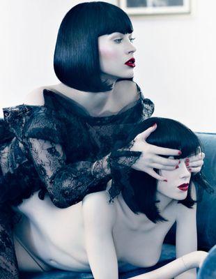 Megan Fox i jej klon - manekin