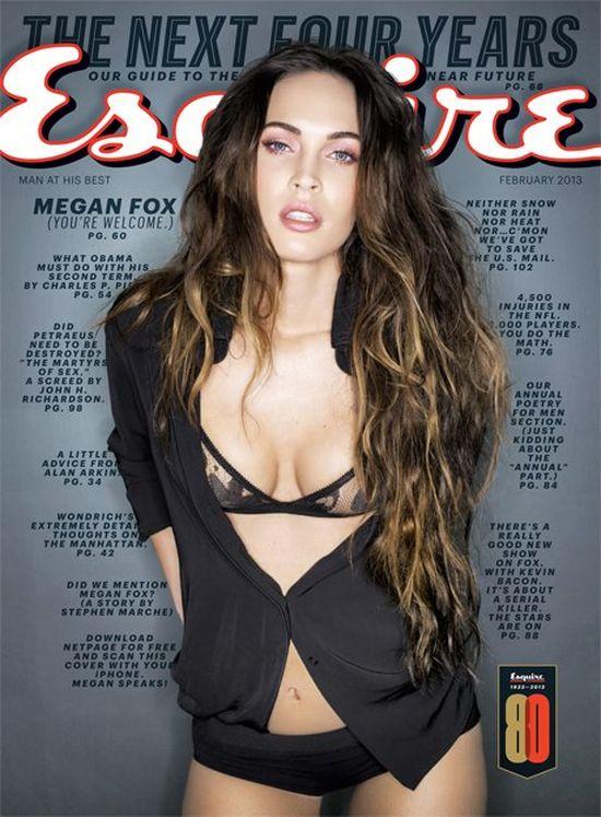 Seksowna Megan Fox w Esquire