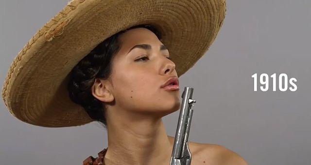 100 lat piękna w minutę, czyli jak zmieniały się Meksykanki