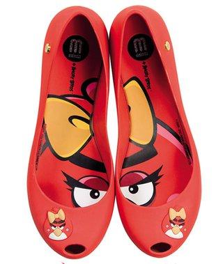 Buty Melissa dla wielbicielek Angry Birds (FOTO)