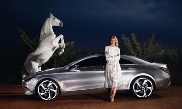 Karlie Kloss dla Marcedez Benz