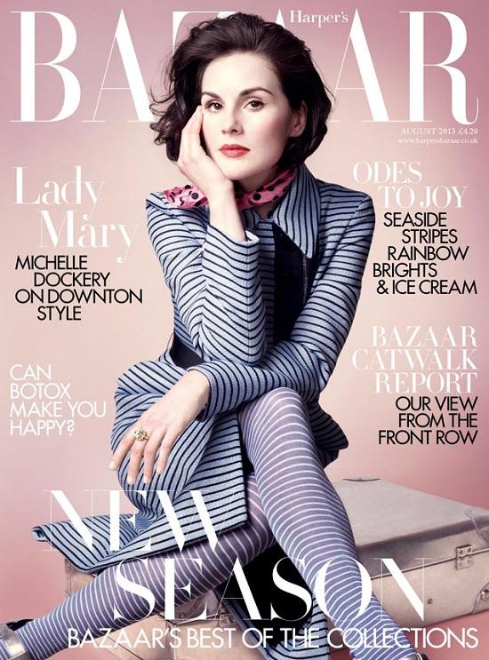 Gwiazda serialu Downton Abbey na okładce Harper's Bazaar UK