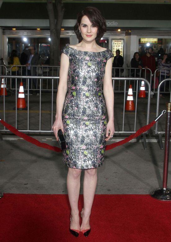 Michelle Dockery - sukienka