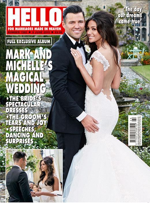 Wiemy, jak wyglądała piękna suknia ślubna Michelle Kegan!