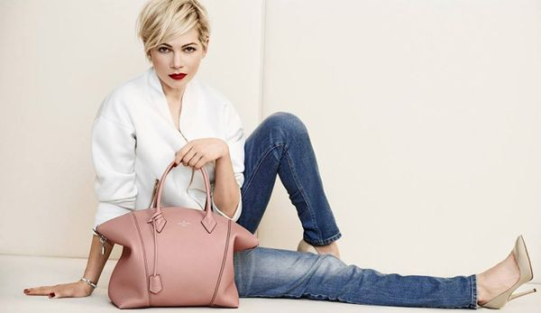 Piękna Michelle Williams w kampanii Louis Vuitton (FOTO)