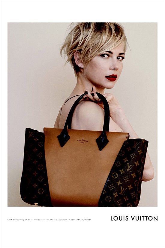 Michelle Williams w kampanii Louis Vuitton