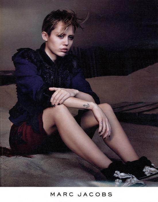 Marc Jacobs zaskoczył kampanią z... Miley Cyrus! (FOTO)