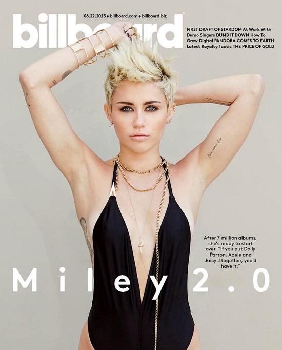 Miley Cyrus na lipcowej okładce Billboard US