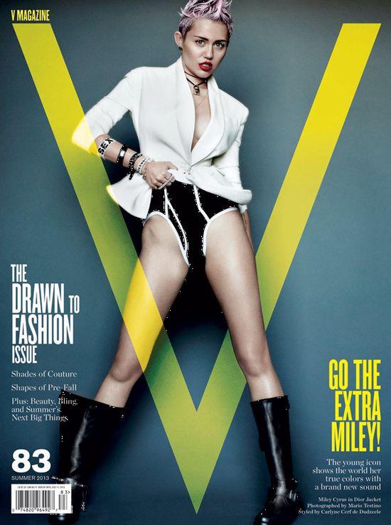 Projektanci nie chcą pożyczać ubrań do sesji z Miley Cyrus