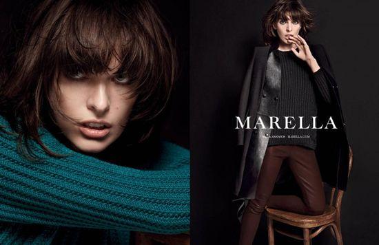 Milla Jovovich w kampanii marki Marella (FOTO+VIDEO)