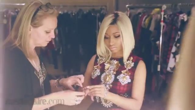 Seksowna Nicki Minaj dla Marie Claire (VIDEO)
