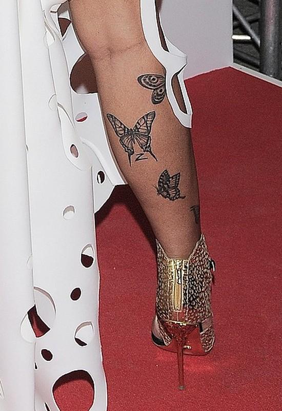 Szok! Tylko spójrzcie na tatuaże Evy Minge!
