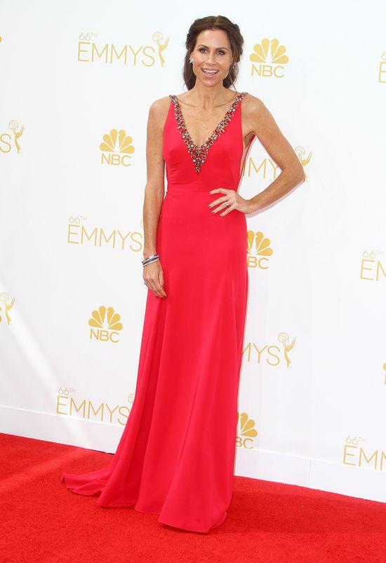 Damy w czerwieni na gali Emmy 2014 (FOTO)
