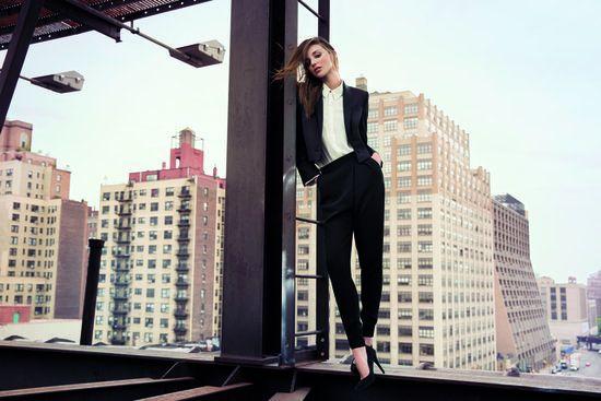 Miranda Kerr w zimowej kampanii Mango (FOTO+VIDEO)
