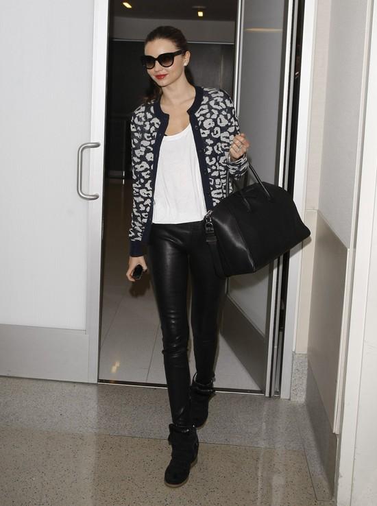 Miranda Kerr tym razem w cętkach (FOTO)