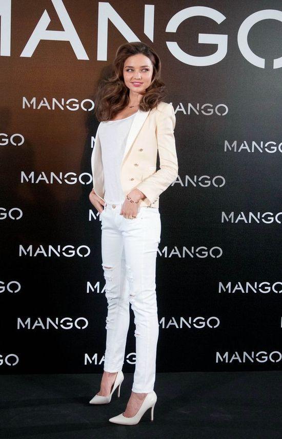 Miranda Kerr promuje markę Mango (FOTO)