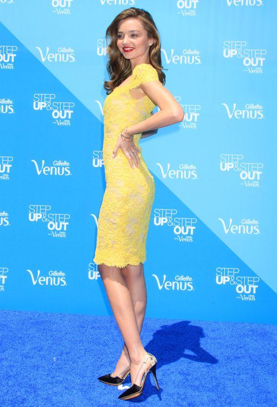 Miranda Kerr w dwóch stylizacjach