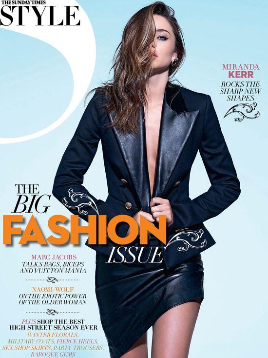 Miranda Kerr na okładce Sunday Times Style